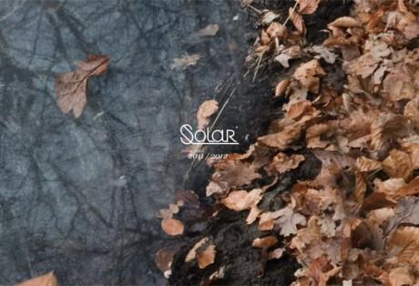 Solar 2012 jesień/zima – projekt graficzny i kodowanie www
