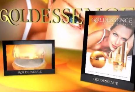 Goldessence – modelowanie przestrzenne produktów oraz animacje na potrzeby digital signage