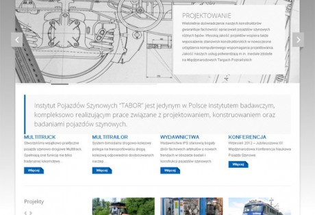 IPS Tabor – projekt graficzny i wdrożenie strony www w oparciu o system CMS