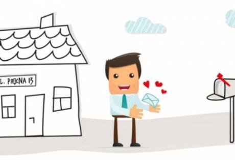 Animowany spot promujący benefity usług Biuroport.pl