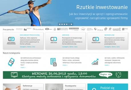 CONTMAN – projekt graficzny i wdrożenie strony www w oparciu o system CMS