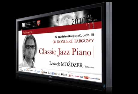 Filharmonia Poznańska – sprzęt digital signage oraz kreacja spotów