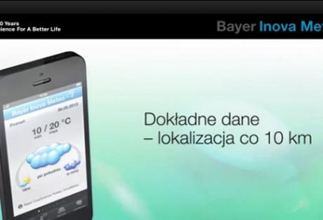 Animowany spot promujący pierwszą aplikację mobilną Bayer CropScience