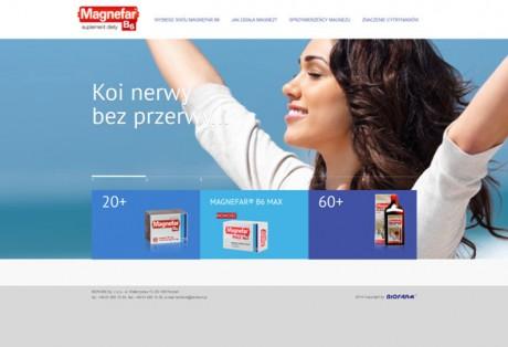 Magnefar – projekt graficzny i kodowanie minisite'u produktowego