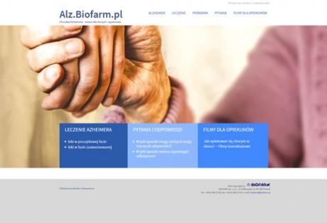 alz.biofarm.pl – projekt graficzny i kodowanie strony www