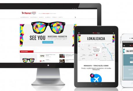 (Polski) RemaDays – projekt i wdrożenie strony www